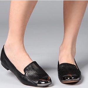 """[Sam Edelman] """"Aster"""" Snakeskin cap toe loafer"""